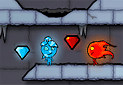 Gra Fireboy And Watergirl 3 In The Ice Temple