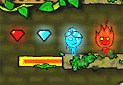Gra Fireboy and Watergirl in the Forest Temple